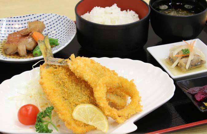 お魚フライ定食